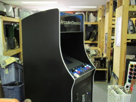 New Joysticks, Buttons, PCB / New Plexiglass Over Monitor, Marquee & Control Panel, / New T Molding,Coin Acceptor & Lock / Freshly Painted Cabinet
