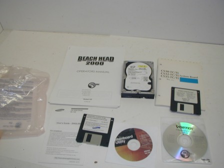 Beach Head 2000 - Hard Drive Manuals / Software (This Came Out Of A Michine That Had A No Signal Error On Screen / Sold As Is) (Item #33) $44.99