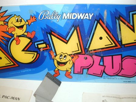 Pac-Man Plus Conversion Kit (Image 2)