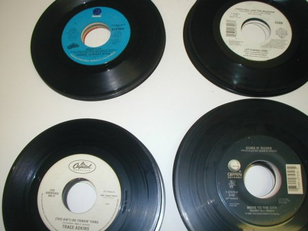45 RPM Records (Lot Of 100) Pulled From Jukeboxes) (Item #39) (Image #4)