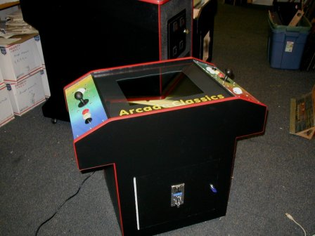 60 Game Cocktail, With Trackball Controls  $1149.99